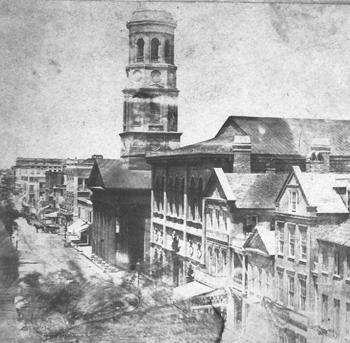 150 Meeting- Circular Church in 1860