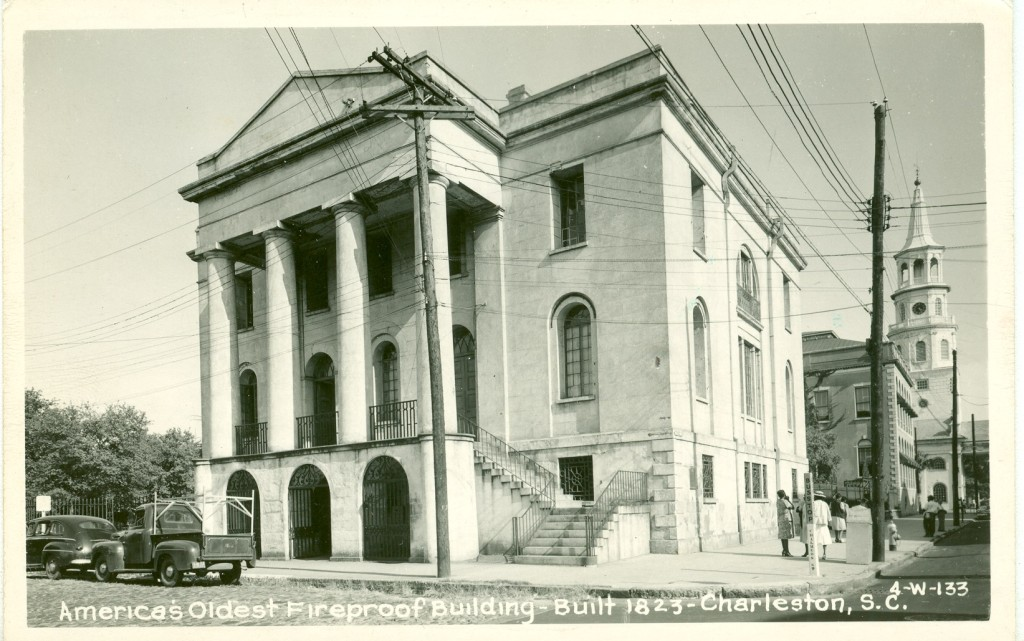 PPC05.07 America's oldest fireproof building, 100 Meeting Street
